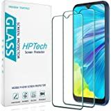 [2-Pack] HPTech Designed for for Motorola Moto E (2020) Tempered Glass Screen Protector, 9H Hardness, Anti Scratch, Bubble Fr