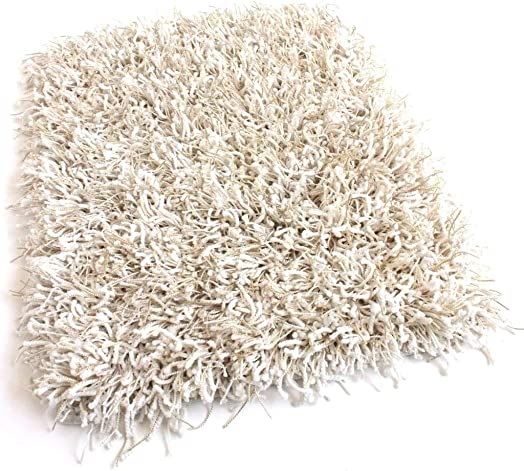 Shag Area Rug Many Size and Colors Available Fluffy White, 8 x 10