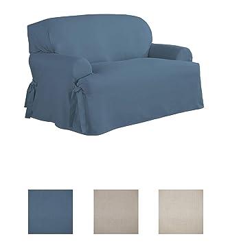 Amazon.com: Serta funda de muebles suelta para silla: Home ...