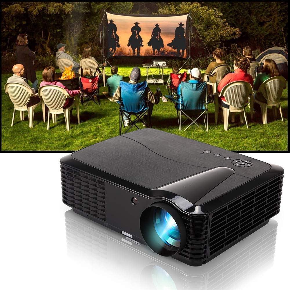 4500 HD Proyector Cine en Casa WXGA LCD LED Videojuegos Proyector ...