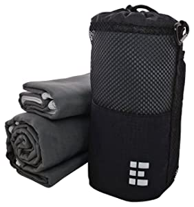 Zero Grid Microfiber Travel Towel Set