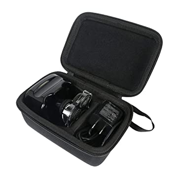 c7678a87f1a9 Khanka Hard Travel Case for Skull Shaver Pitbull Silver Shaver