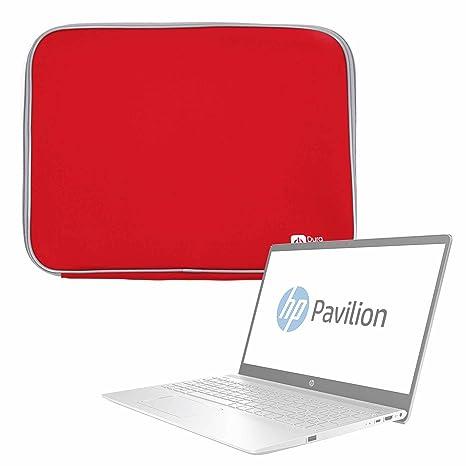 DURAGADGET Funda De Neopreno Roja para Portátil HP 15-bw068ns, HP Pavilion 15-ck007ns: Amazon.es: Electrónica