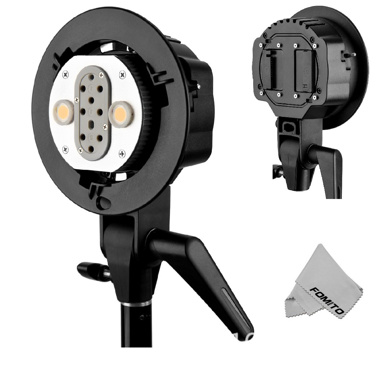 Godox Fomito AD200 Dual Power Flash Head S-type double lamp holder by Fomito
