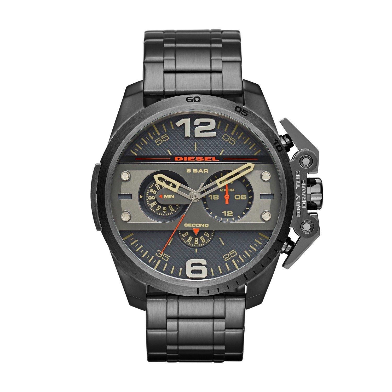 MARKEN Herren-Armbanduhr Ironside Chronograph Silber Edelstahl 4363