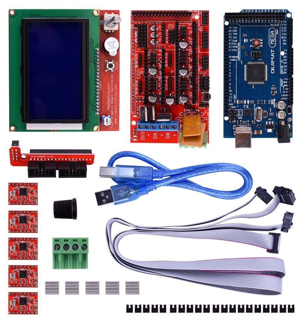 Amazon com: Kelvee 3D Printer Controller Kit for Arduino