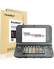 iVoler [6 Pack] Pellicola Protettiva per Nintendo New 3DS XL, Protezione Schermo [Bubble-Free-Riutilizzabile] HD Clear Film in TPU per Nintendo New 3DS XL