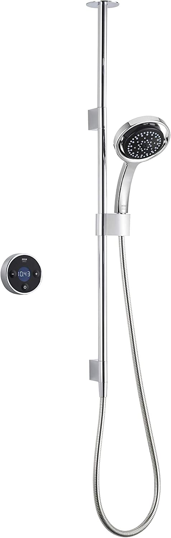 Mira Showers Platinum Digital Shower Ceiling Fed Pumped for Gravity 1.1666.002 - Black/Chrome