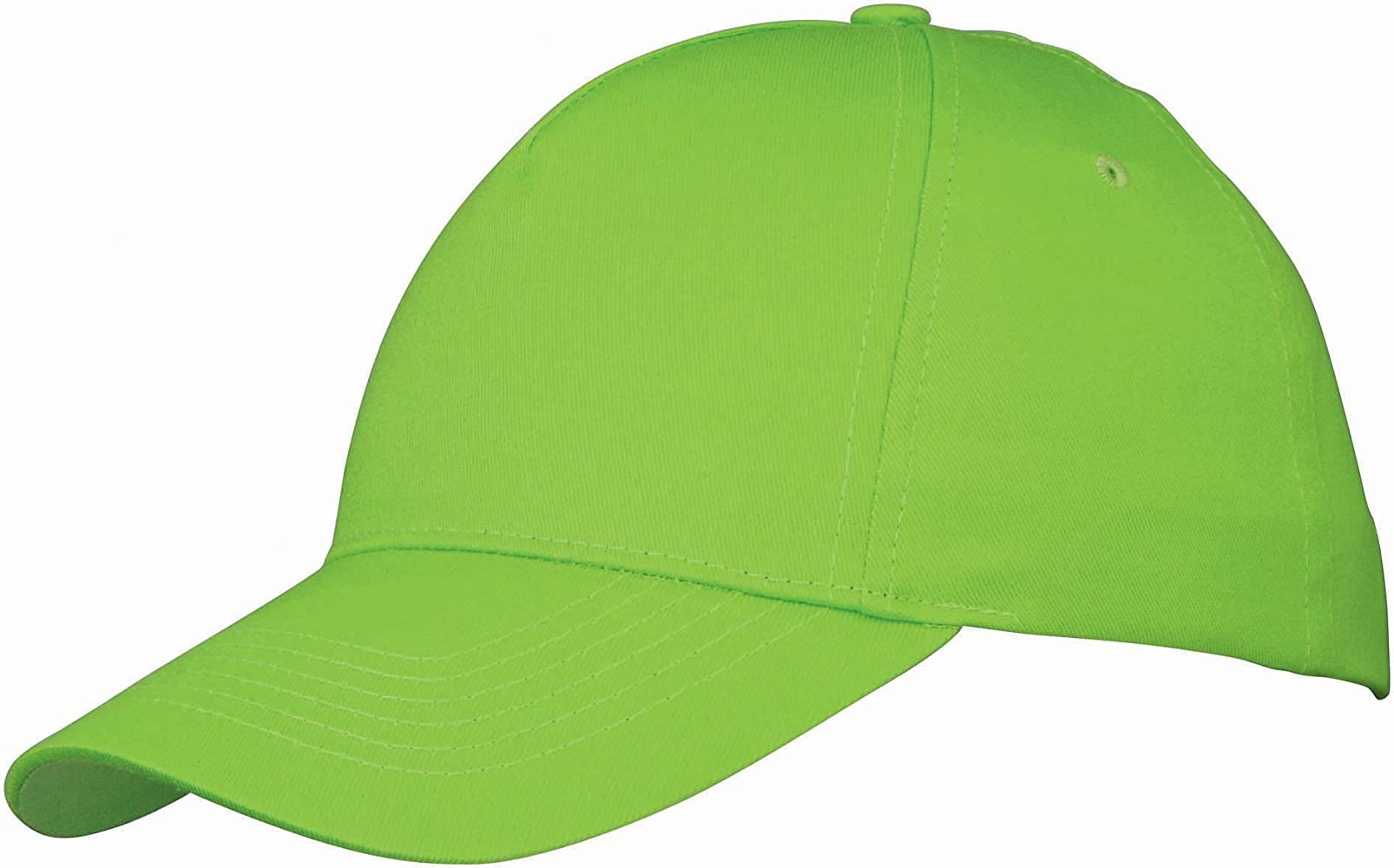 01ddf1fd US BASIC 5 PANEL CHILDRENS BASEBALL CAP HAT - 13 COLOURS (APPLE ...