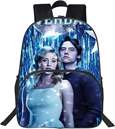 Riverdale South Side Serpents canvas backpack kid/'s school bag laptop travel bag