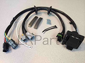 71wcPN7ZFBL._SX355_ amazon com land rover lr3 tow hitch trailer wiring harness trailer hitch wiring harness at readyjetset.co