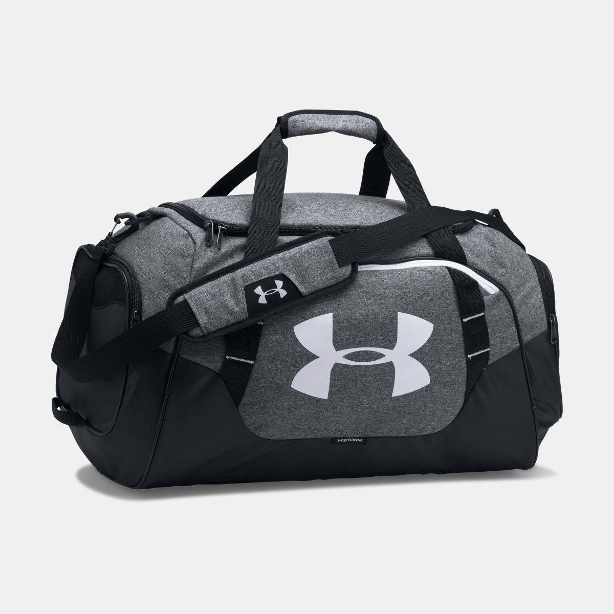 [UNDER ARMOUR] アンダーアーマー Men's UA Undeniable 3.0 Medium Duffle Bag Graphite/Black [並行輸入品] B07539YMCH