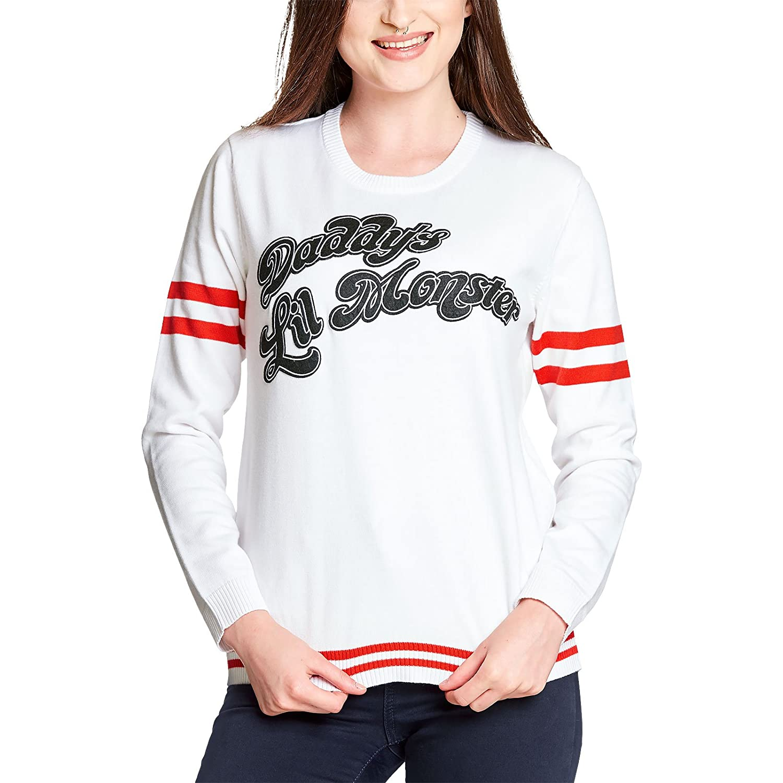 El suicidio suéter escuadra Damen Strick Harley Quinn Daddys Lil del ...
