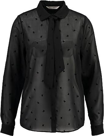 Garcia - Camisas - Manga Larga - para Mujer (Black) 60 X-Large: Amazon.es: Ropa y accesorios