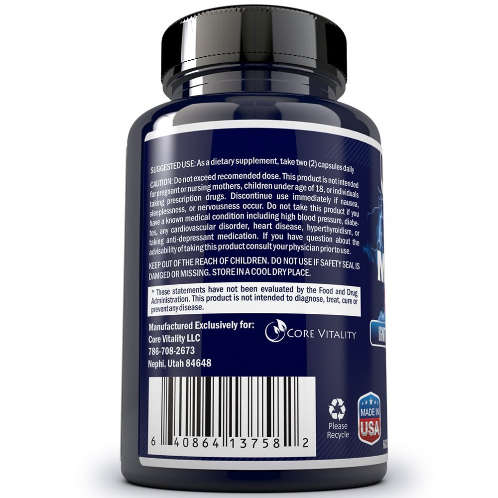 Amazon.com: #1 Testosterone Booster Pills for Men - 100% All Natural Supplement - Boost Testosterone, Libido, Energy, Drive, & Fat Loss - Look Fitter ...