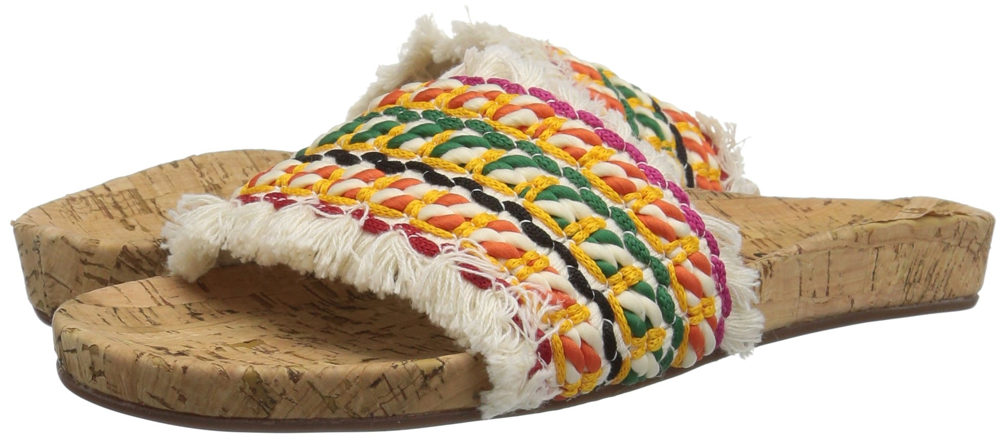 Schutz Women's KAHARA Slide Sandal, Multi, 9 M US by Schutz (Image #6)