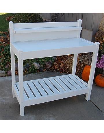 Amazon Com Potting Benches Tables Patio Lawn Garden