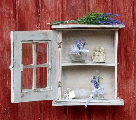 Wunderschöner kleiner Hängeschrank Küchenschrank im Shabby Chic Stil ...