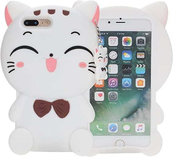 Case Cover iPhone 5s Silicone Cute