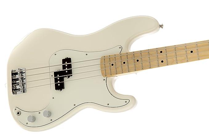 Fender 0146102580 Standard Precision Bass Ahorn Griffbrett E-Gitarre ...