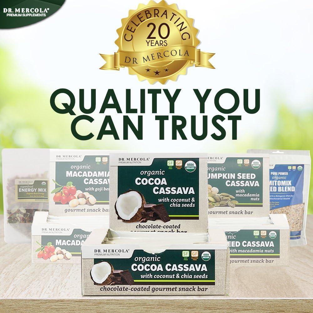 Amazon.com: Dr. Mercola Cacao Mandioca Bares – USDA ...