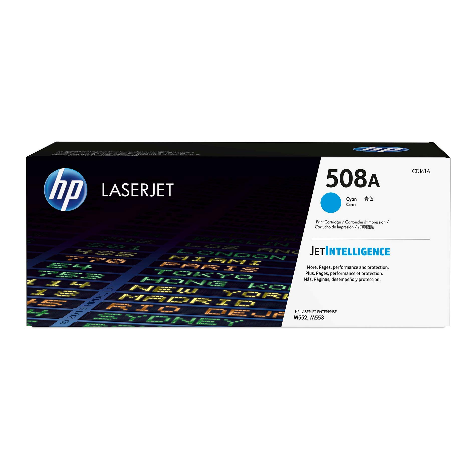 HP 508A (CF361A) Cyan Toner Cartridge for HP Color LaserJet Enterprise M577 M553