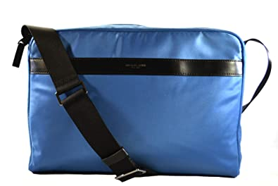 0074336eb2df Amazon.com  Michael Kors Kent Nylon Briefcase Computer Laptop PC Shoulder  Crossbody Messenger Bag