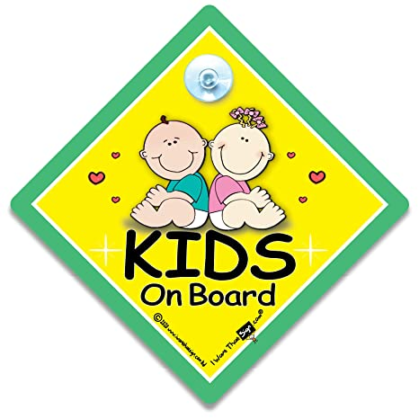 Kid S On Board Kid S On Board Schild Kid S On Board Auto Zeichen Kids On Board Schild Kid S On Board Baby An Bord Zeichen Baby An Bord Aufkleber Bumper Aufkleber Aufkleber Baby Baby Auto Schild Kinder On Board Amazon De