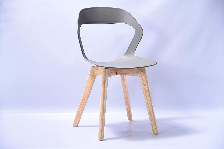 bureaux Ensemble de quatre chaises modernes en plastique de style nordique dans une vari/ét/é de couleurs pour une utilisation dans les salons salles de r/éunion et salles /à manger. salles /à manger