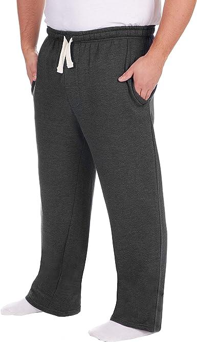 Pantalones de chándal para hombre, talla grande, con dobladillo ...