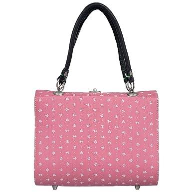 Süße Trachtentasche zum Dirndl in Rosa von Almsach, Farbe:Rosa Almsach