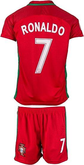 Equipación de la selección de Portugal, camiseta y pantalón 2016 ...