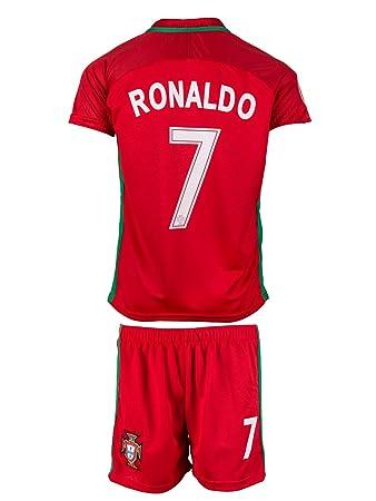 Portugal 7 Ronaldo 201617 Heim Kinder Trikot Und Hose 152