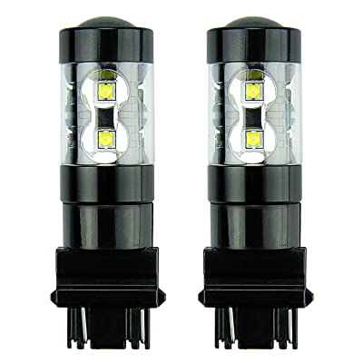 JDM ASTAR Extremely Bright Max 50W High Power 3056 3156 3057 3157 LED Bulbs,Xenon White: Automotive