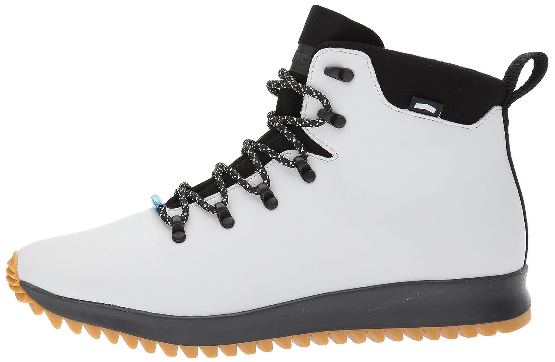 native Men's Ap Apex Ct Rain Boot B01MT8MS85 8 D(M) US|Mist Grey Ct/Jiffy Black/Nat Rubber