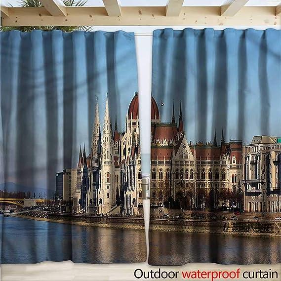warmfamily Wanderlust - Cortina para Exteriores (diseño de Paisaje ...
