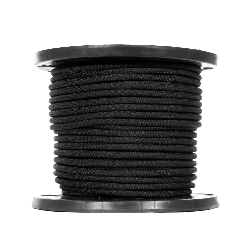 Tie-Downs Golberg 1//4 1//2 Crafting 3//4 Inches-Black Diamond Weave Elastic Bungee Cord-Features 100/% Stretch Gravity Chairs Shock Absorbent Strong Hold-Camping Kayak Decks Shock Cord-1//8 3//8