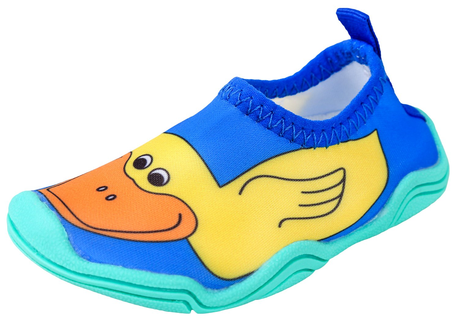 Lil' Fins Water Pals Kid Shoes | Beach | Summer Fun | Water Shoes | Quick Dry | Swim Shoes | Duck 1/2
