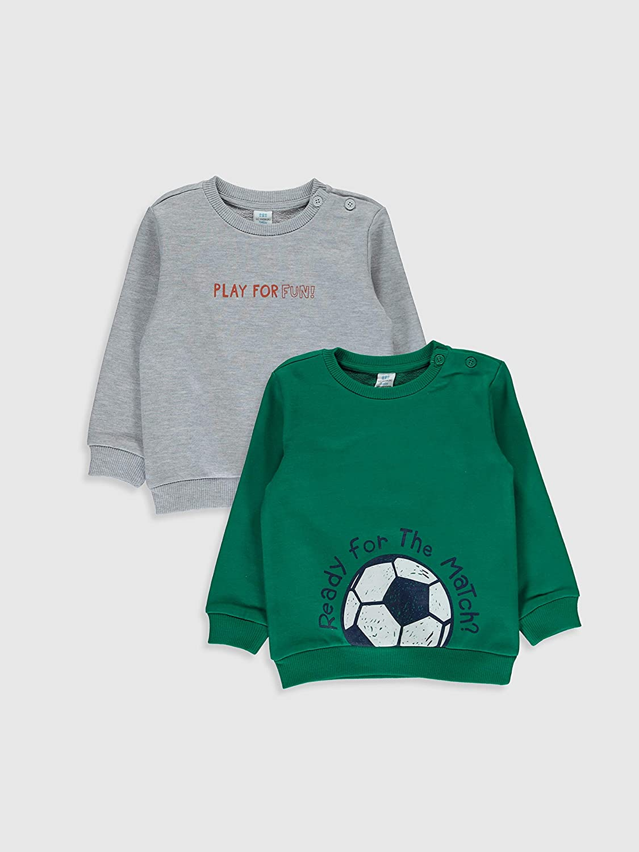 LC WAIKIKI 2 Baby Boys Sweatshirt with Print