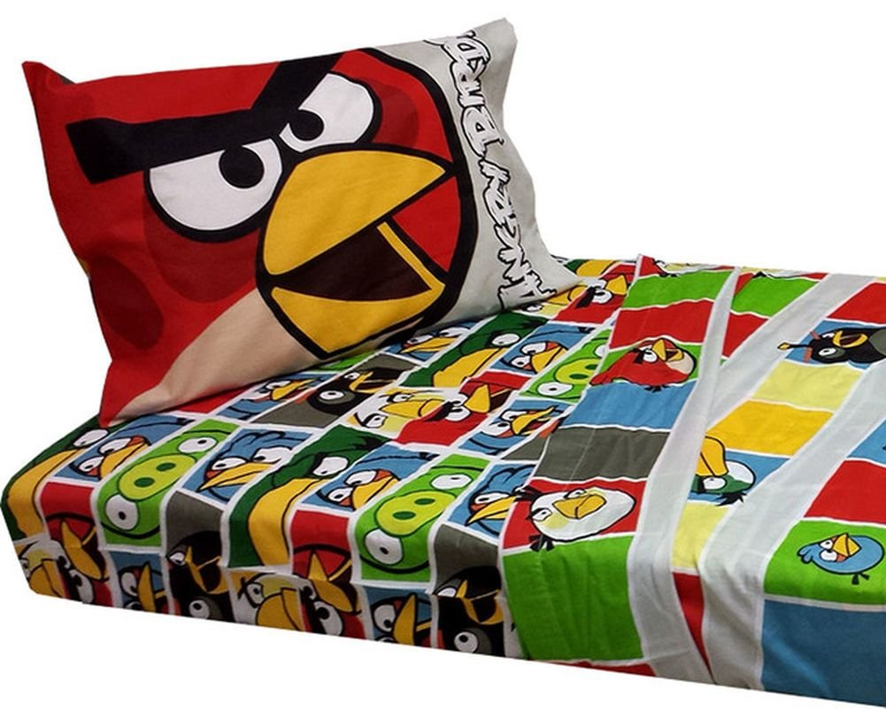 Angry Birds Duvet Set Bed Linen Or Angry Birds Fleece Blanket