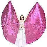 Dance Fairy Halloween Danza del Vientre Alas de Isis espectáculos con Palos/Varillas