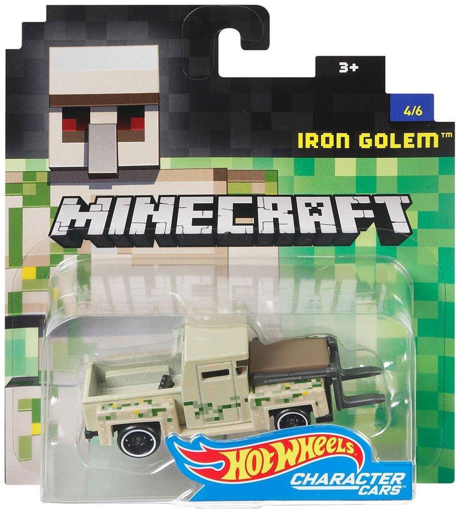 Amazon.com: Minecraft golem de hierro Hot Wheels Vehículo ...