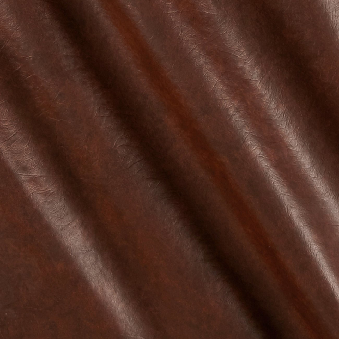 Plastex Fabrics Faux Leather Buffalo, Brown Print 0338930
