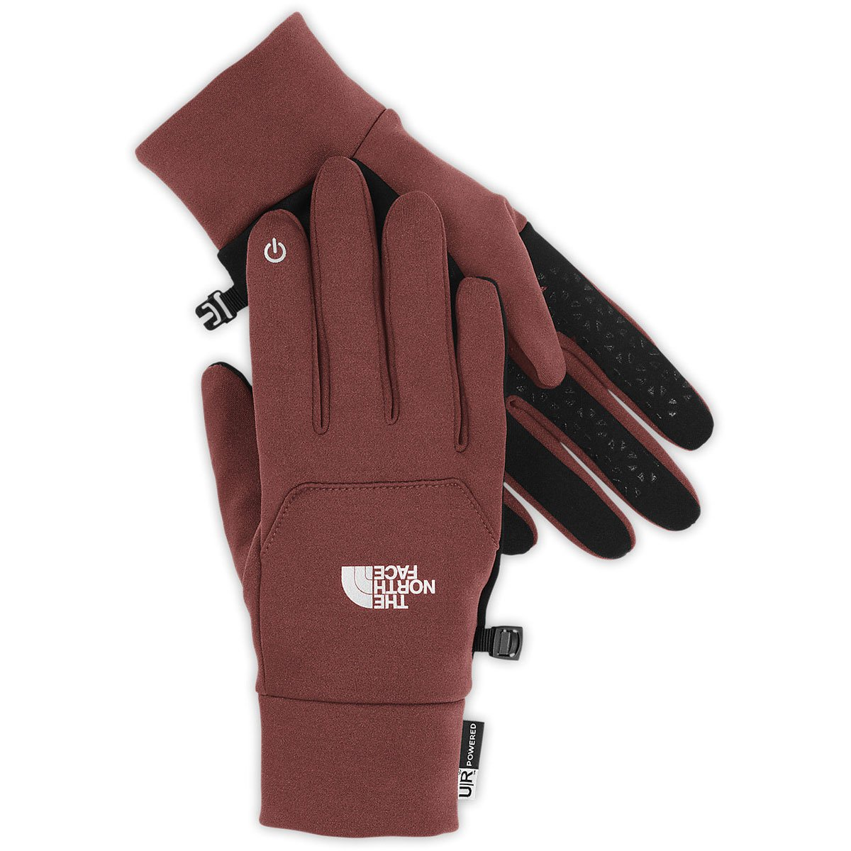 The North Face Etip Gloves Cherry Stain Brown XL