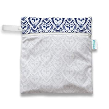 BABY NAPPY DIAPER BAG REUSABLE WET DRY CLOTH CHANGING WATERPROOF HOLDER BLING