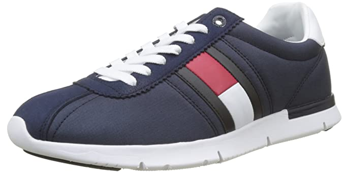 f4c1b8b29 Image Unavailable. Image not available for. Color  Tommy Hilfiger Retro  Mens Sneakers Blue