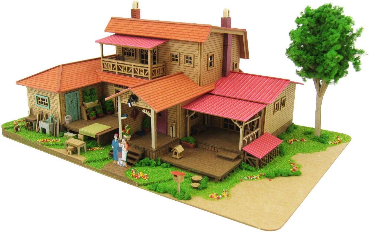 1/150 Studio Ghibli Series 8 Oiwa house (Paper Craft) MK07-1 by Totoro