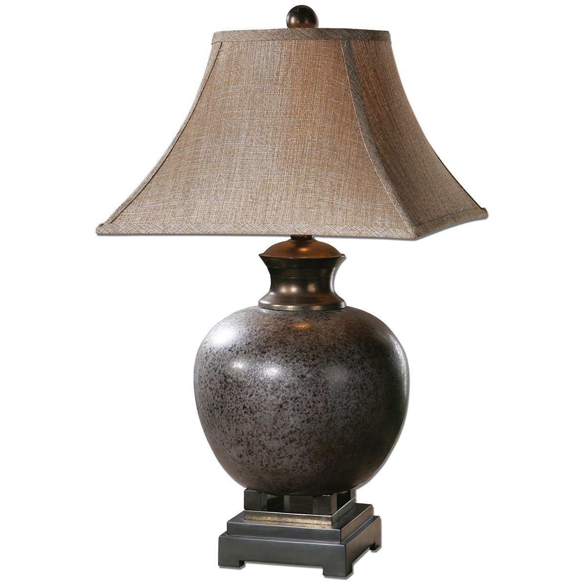 Amazon.com: Uttermost 26292 Villaga Distressed Table Lamp: Home U0026 Kitchen