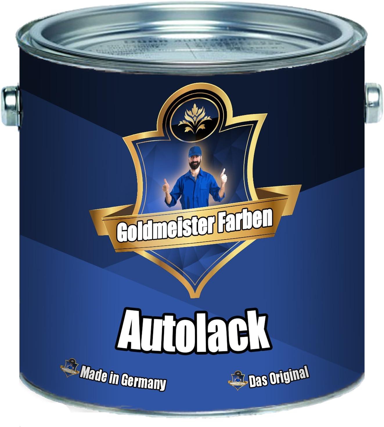 Goldmeister Farben 2 K Autolack Grundierung Und Decklack In Einem Extrem Wiederstandsfähiger Landmaschinenlack Im Set Weiß Ral 9010 2 5 Kg Auto