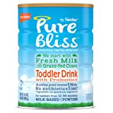 Amazon Price History for:Similac Pure Bliss Toddler Drink with Probiotics, Starts with Fresh Milk from Grass-Fed Cows, 31.8 ounces (Single Can)